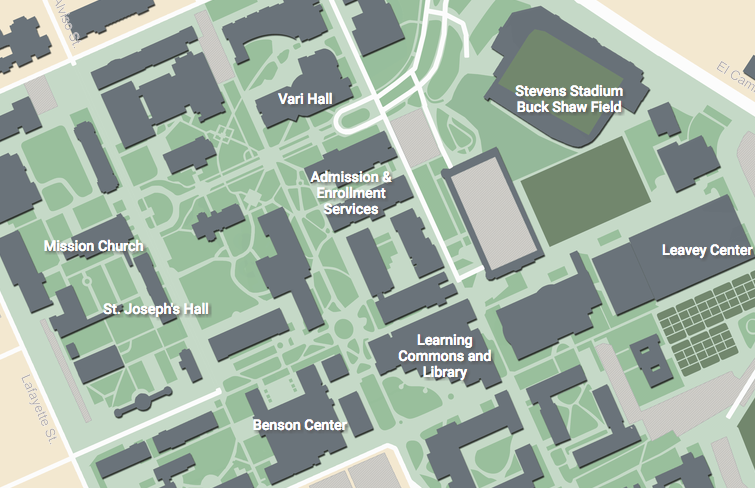 Applied Materials Campus Map.Venue Pbl2018